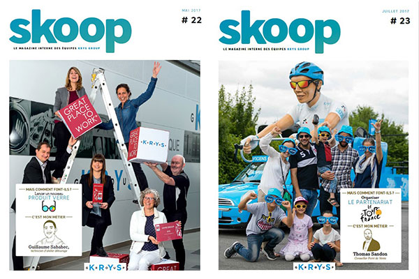Magazine interne Skoop | Krys Group